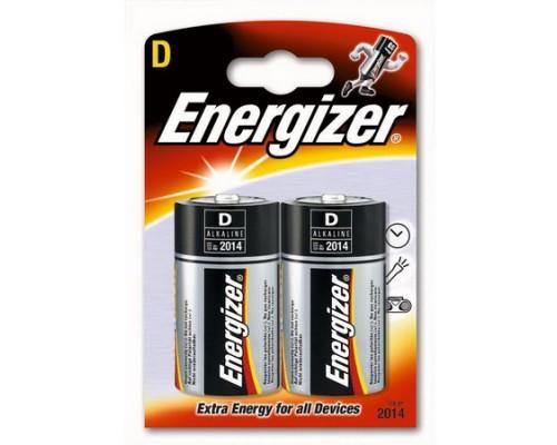 Батарейка Energizer LR20-2BL