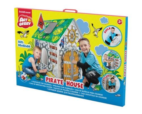 Игровой домик для раскрашивания Artberry/Pirate house