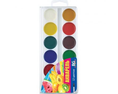 Краски акварельные 12 цветов BG Вдохновение