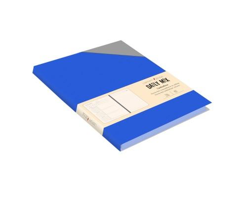 Ежедневник (недатированный) А5 136 листов искусственная кожа Daily MIX Синий