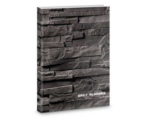 Ежедневник (недатированный) А5 128 листов Оттенки графита
