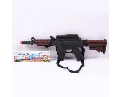 Оружие автомат с прицелом PAC 37,5х13 см. 818-3